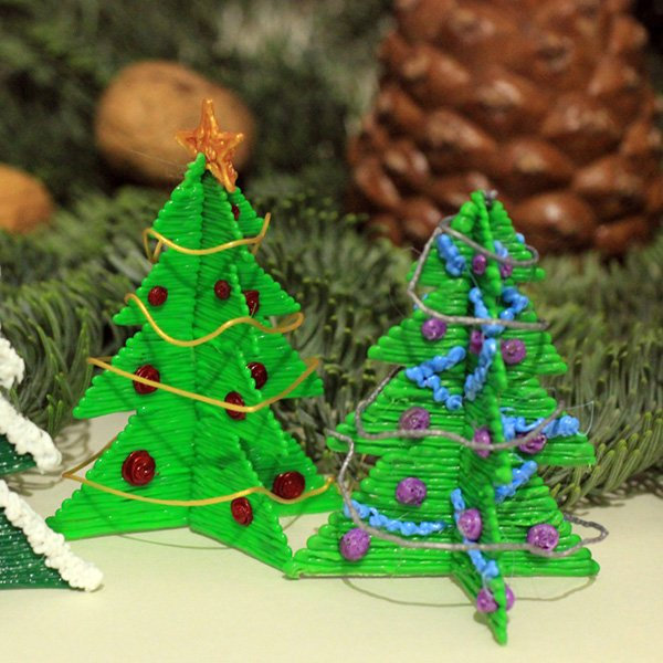 foto 3d kerst pen