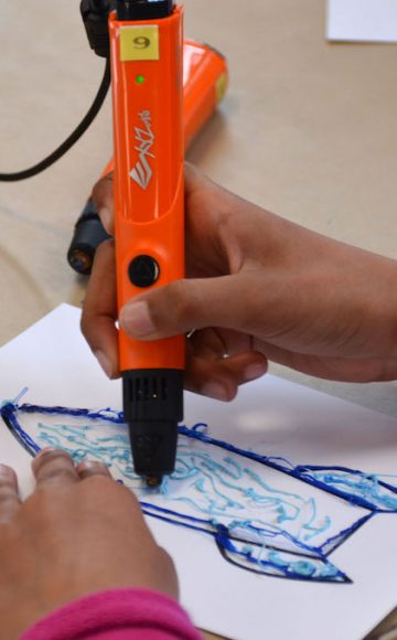 3D Printer Pen Tekenen en Speellab op school 3
