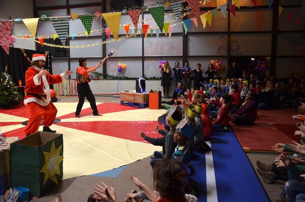 Kerst circus op school 1