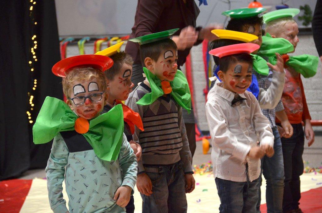 Kerst circus op school 2