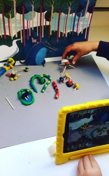 Stop Motion en Animatie op school 5