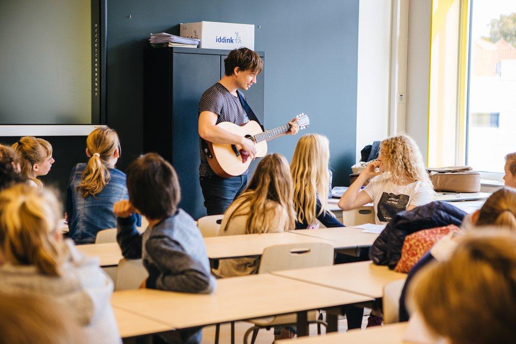 Workshop Songwriting op school 3