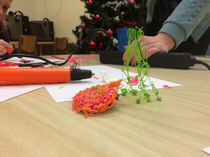 3D ontwerpen op school