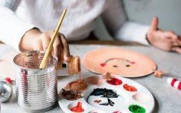 Lesvervanging workshop basischool Kunstwerken van Nederlandse bodem 2