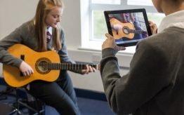 Lesvervanging workshop basischool videoclip maken