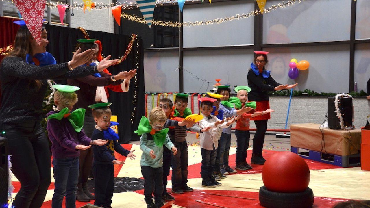 Projectdag basisschool kerst circus 3