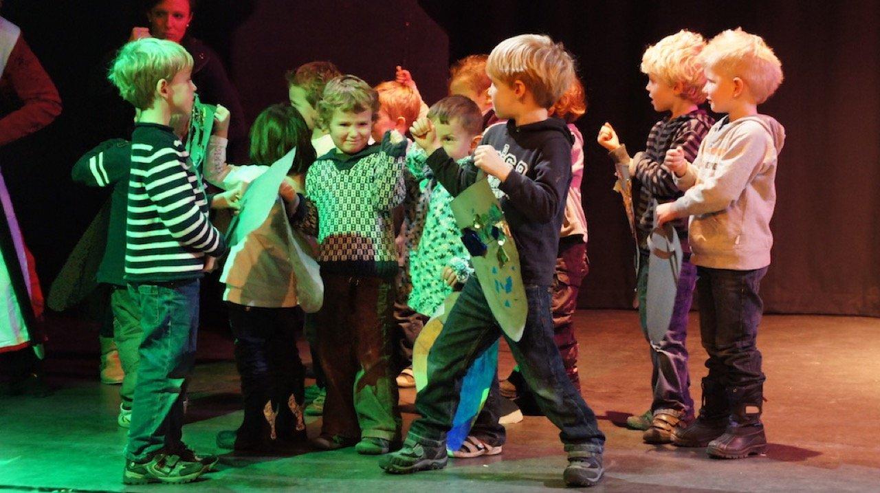 Projectdag basisschool theater opa 2