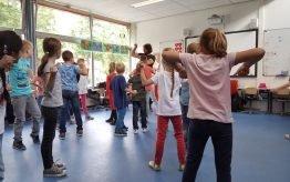 Workshop activiteit basisschool Basistheater 2