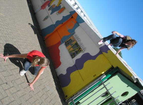 Workshop activiteit basisschool Free Running 3