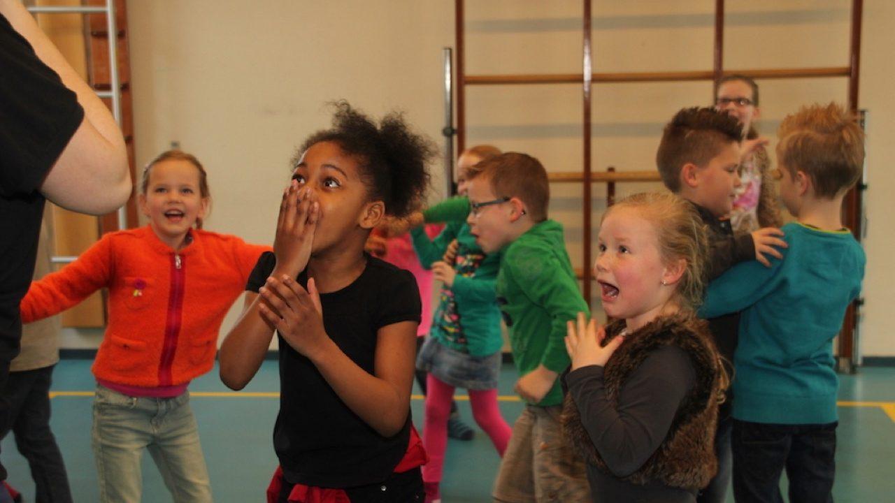 Workshop activiteit basisschool Fysiek theater
