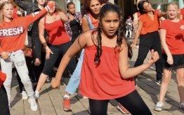 Workshop activiteit basisschool Hiphop Dance 3