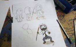 Workshop activiteit basisschool Illustratie 2