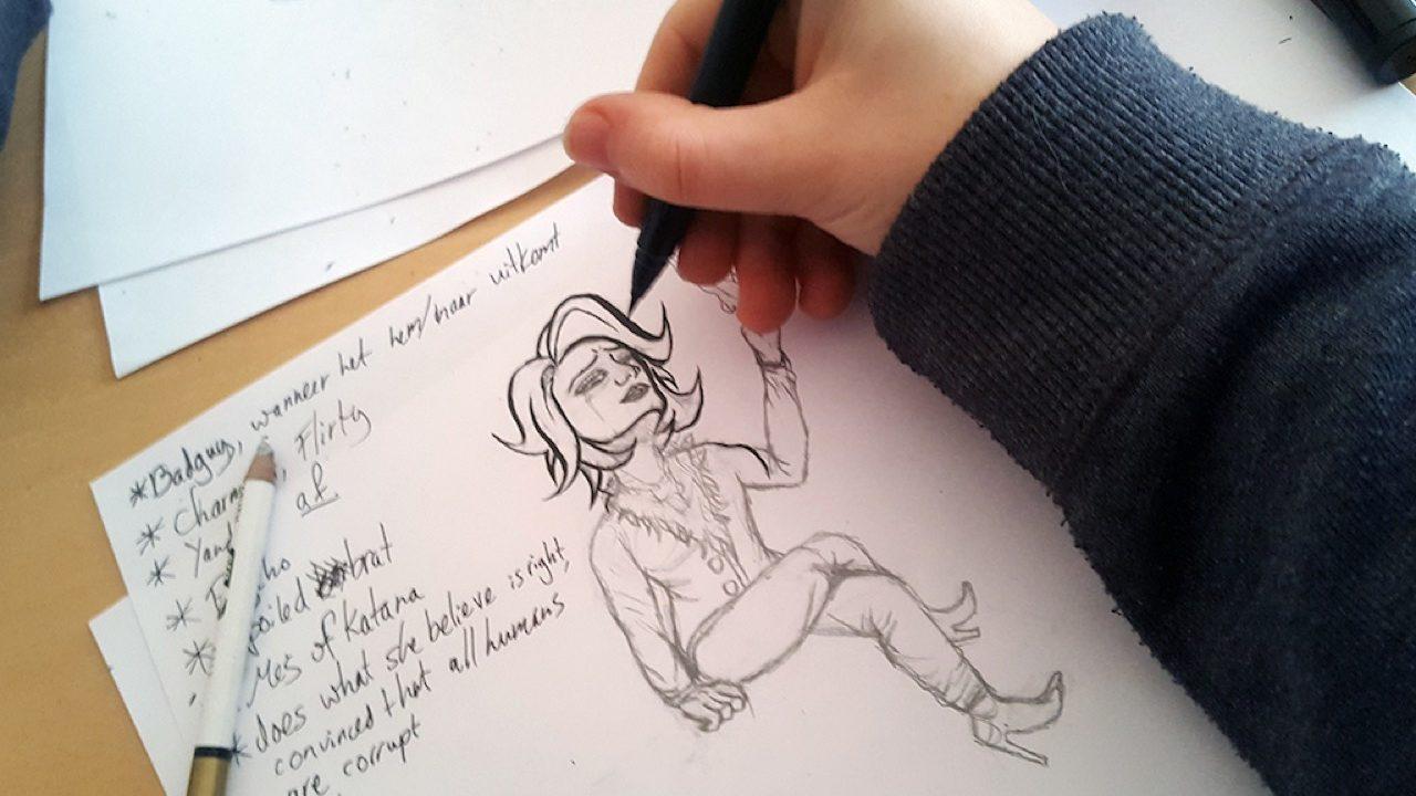 Workshop activiteit basisschool Illustratie 3