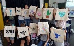 Workshop activiteit basisschool Monotype Design