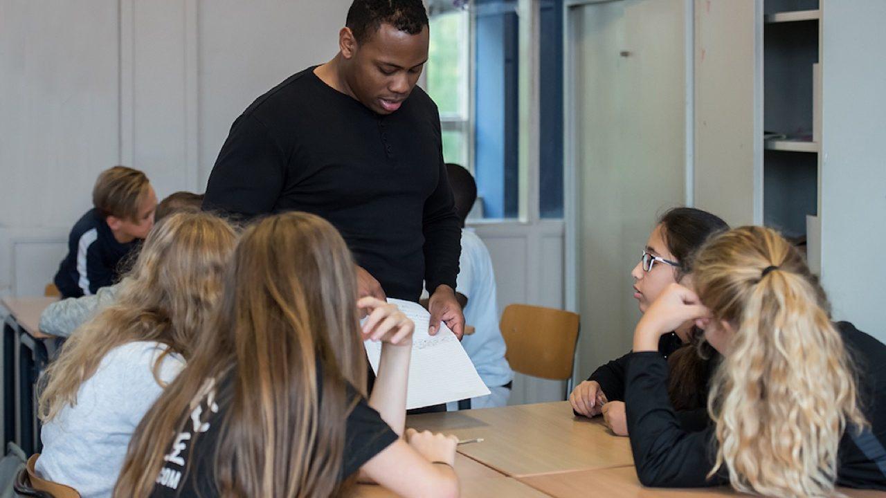 Workshop activiteit basisschool Rappen