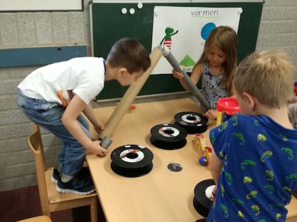 Workshop activiteit basisschool Reactiebaan 6