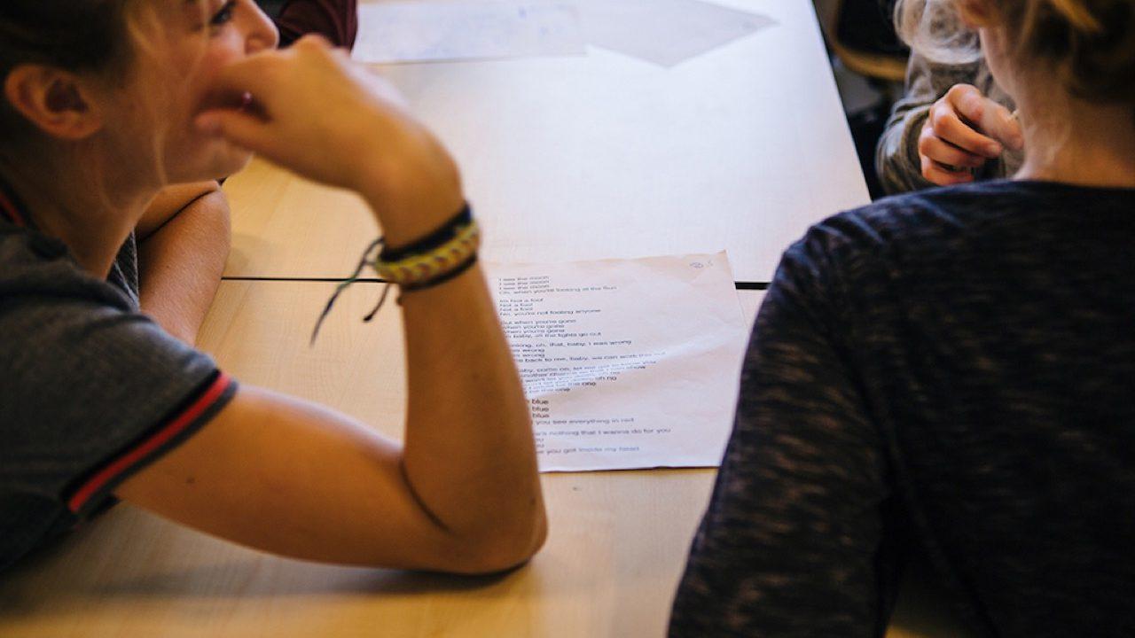 Workshop activiteit basisschool Songwriting