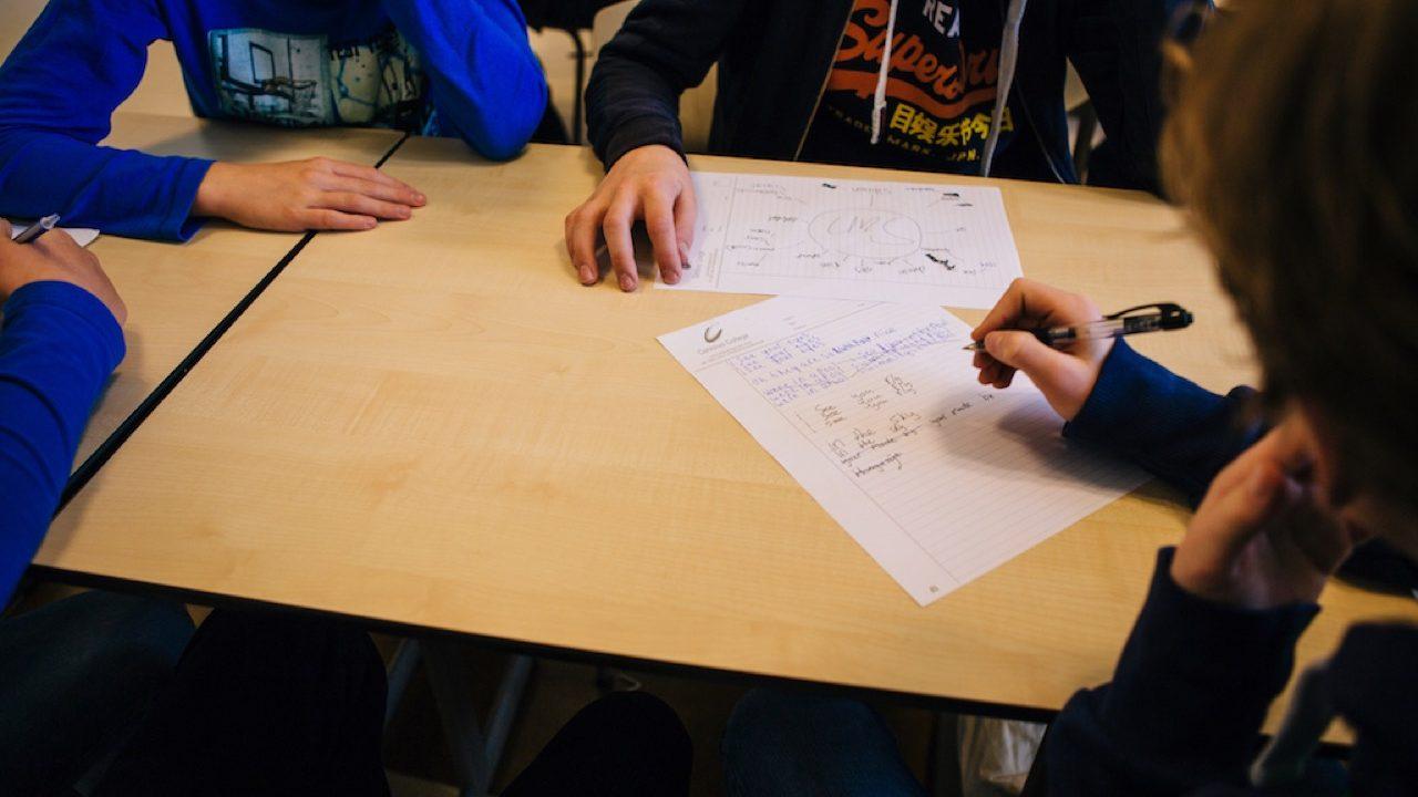 Workshop activiteit basisschool Songwriting 2