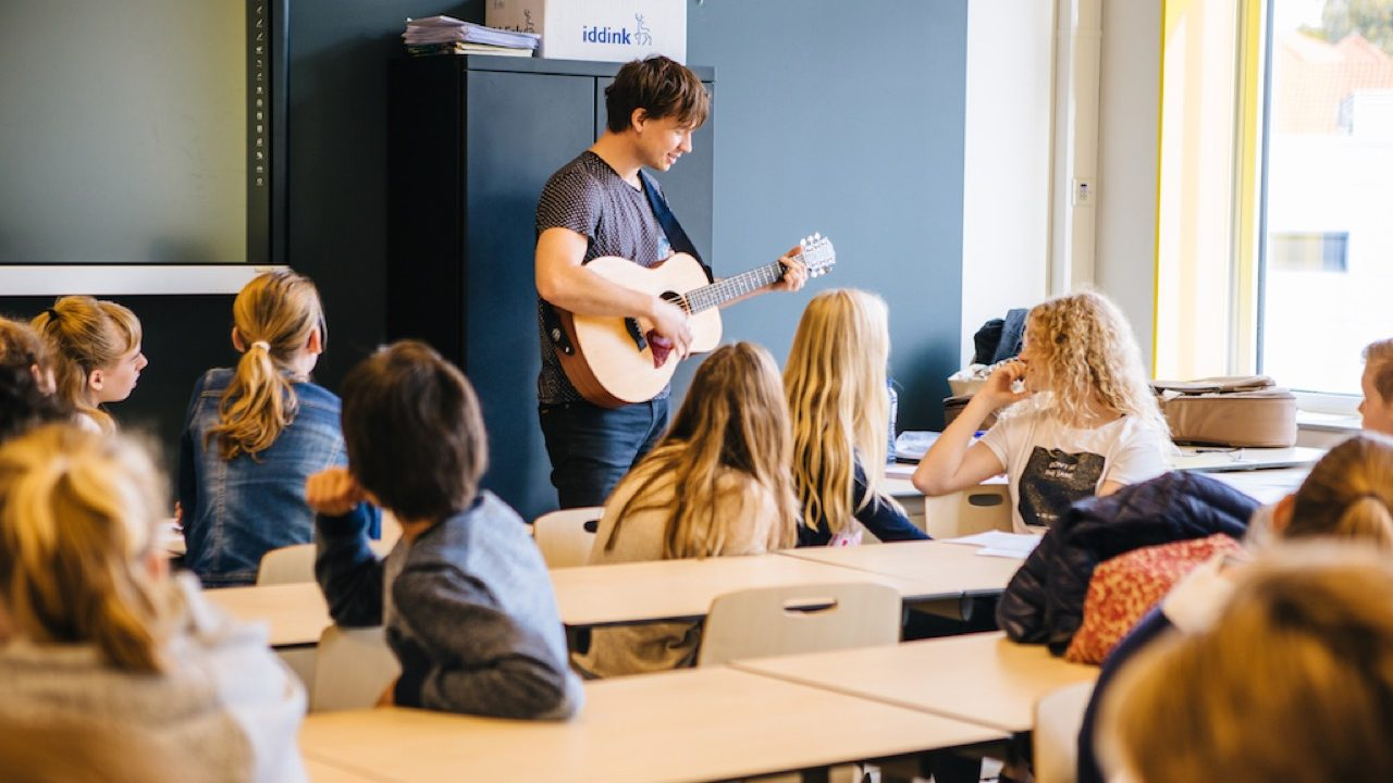 Workshop activiteit basisschool Songwriting 3