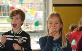 Workshop activiteit basisschool Theatersport 4