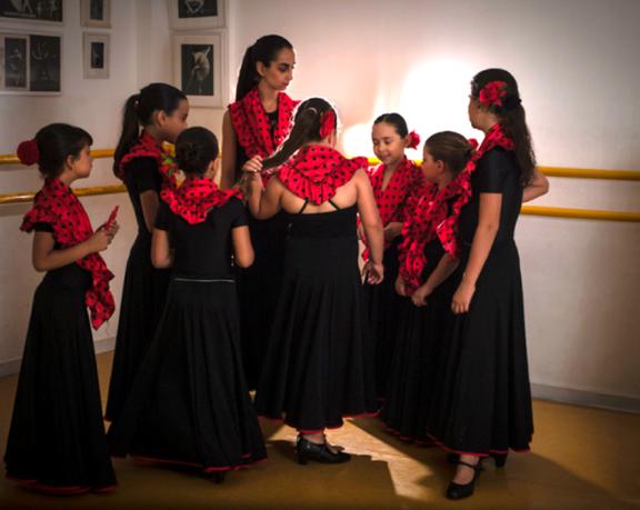 Workshop activiteit basisschool Wereld Dans 2