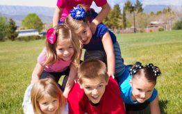 Workshop activiteit basisschool acrobatiek