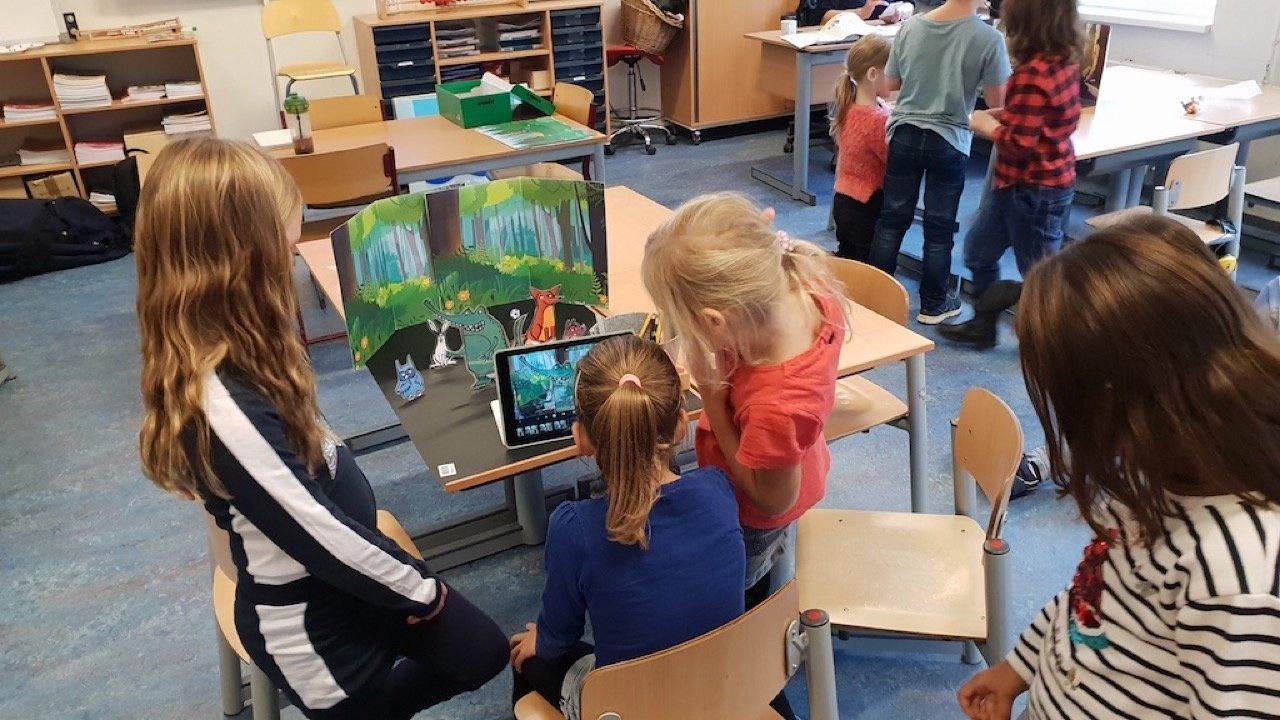 Workshop activiteit basisschool animatie