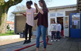 Workshop activiteit basisschool balanceren 02