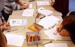 Workshop activiteit basisschool cartoon tekenen