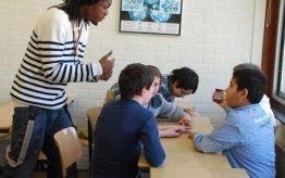 Workshop activiteit basisschool rappen 2