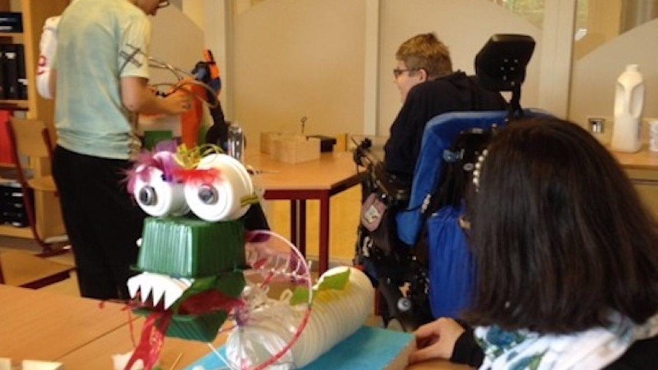 Workshop activiteit basisschool upcycling 09
