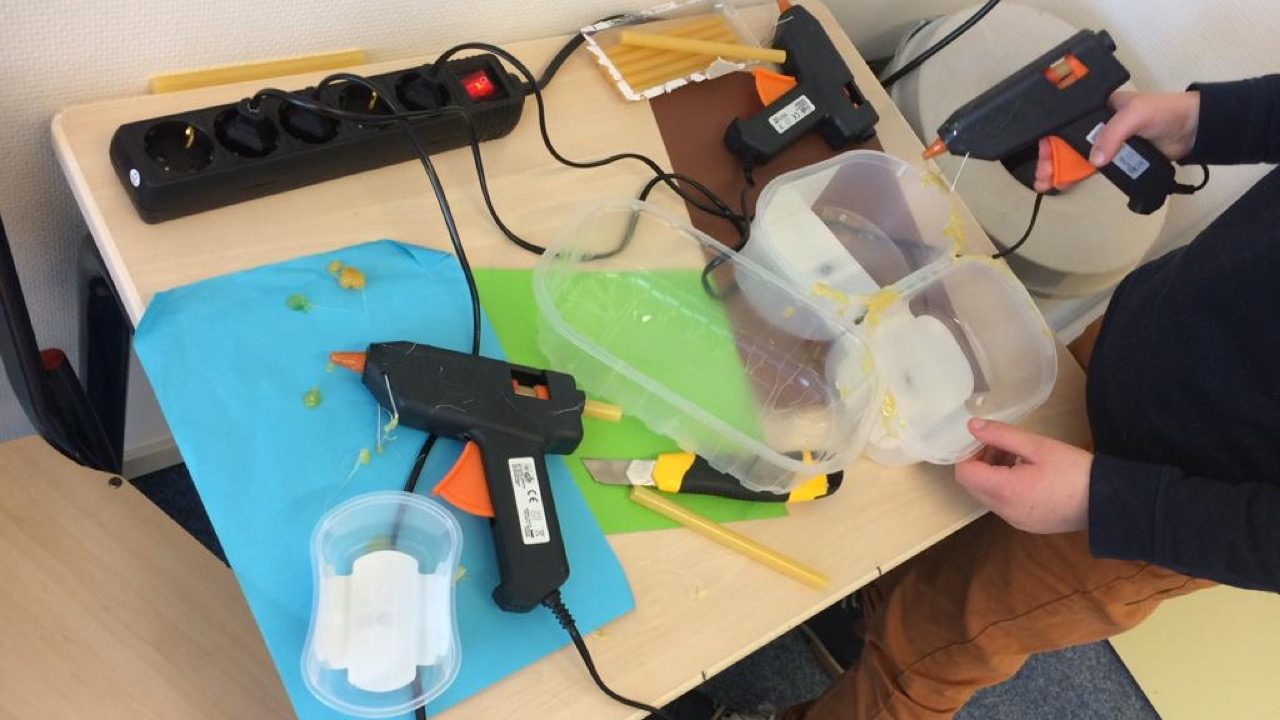 Workshop activiteit basisschool upcycling